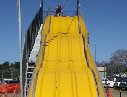 Types Of Vans >> Giant Slide for Hire - Inflatable to Fibreglass Slip and Slides
