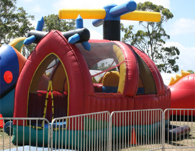 Inflatable Helicopter Ball Pit Kay Dee Promotions
